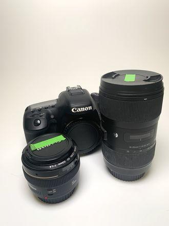Canon 7D Mark II + 2 Lenses