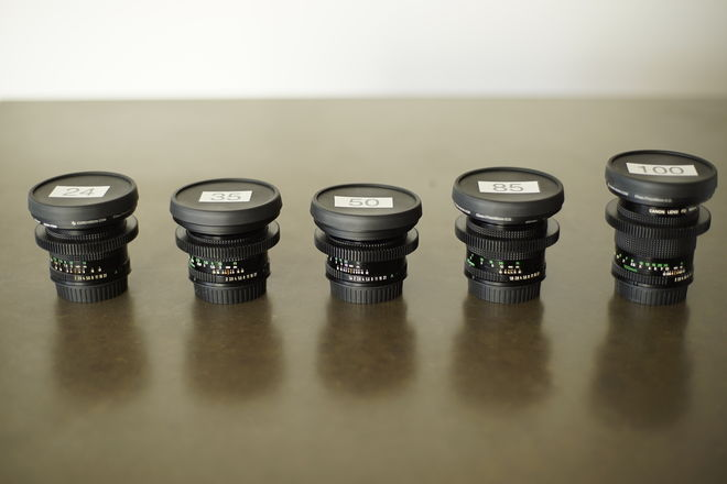 Canon Vintage FD Lens Set (example frame grabs within)