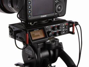 Rent: Tascam DR-70D 4 Channel Audio Recorder