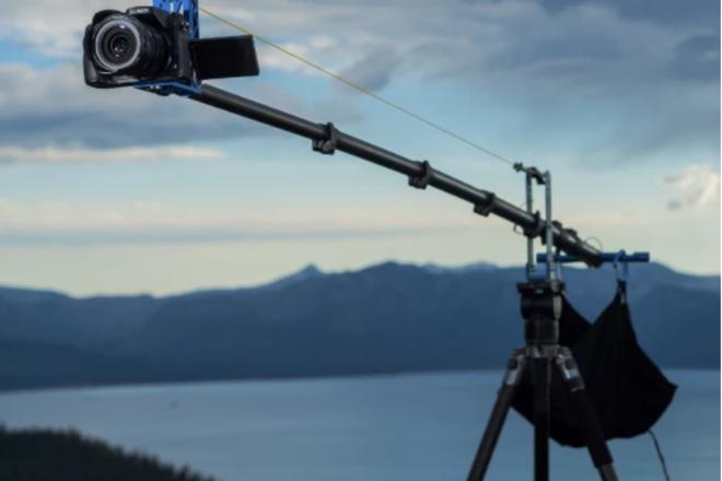 Feather Camera Crane - The Adventure Jib