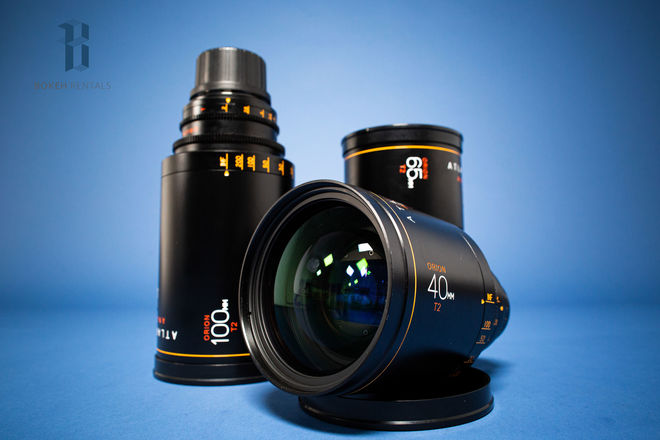 Atlas Orion Anamorphic Lens A Set (40, 65, 100mm T2)