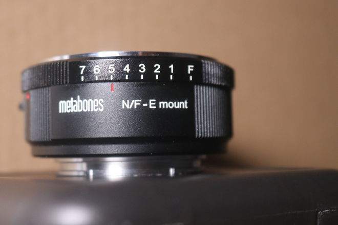 Metabones Nikon F Lens to Sony E-Mount Camera T Adapter