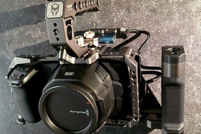 Blackmagic Pocket Cinema Camera 6K w/(2) SSDs