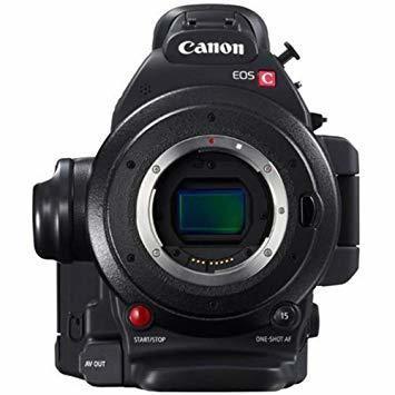 Canon EOS C100 Mark II + Manfrotto 504HD Tripod