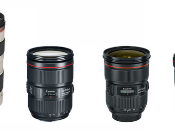 Rent: Canon L Series Zoom Lens Set