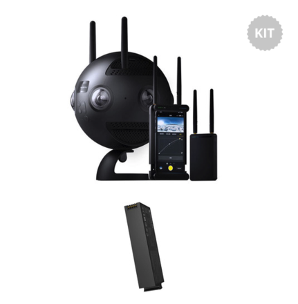 Insta360 Pro2 Full Kit with 128gb SD and 6 128gb microSDs