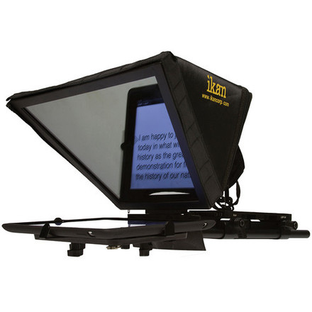 Ikan Elite Universal Tablet Teleprompter Kit (With iPad)