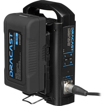 Dracast D2-S Dual V-Mount Battery Charger/Dual Battery Kit
