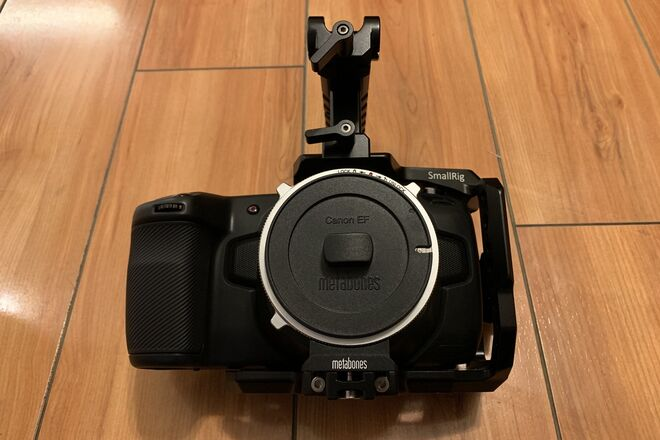 Blackmagic Pocket Cinema Camera 4K & CINE SpeedBooster ULTRA