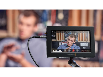 "Rent: BMD Video Assist HDMI/SDI Recorder and 5"" Monitor"