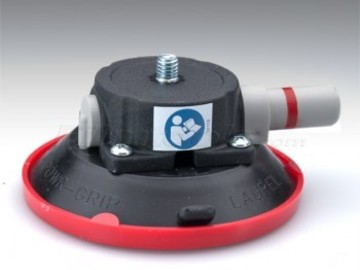 "Rent: 4.5"" Suction vacuum cup with 3/8"" threaded spud"