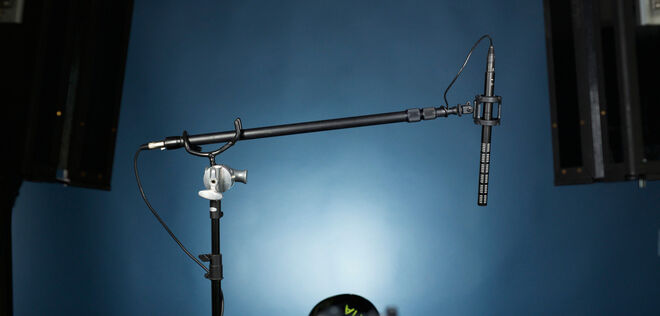 MKH 416 Boom Mic - Complete Kit with C-Stand + BMPCC Cable