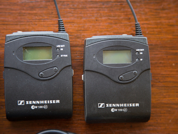 Rent: Sennheiser ew 112-p G3 Camera-Mount Wireless Microphone Syst