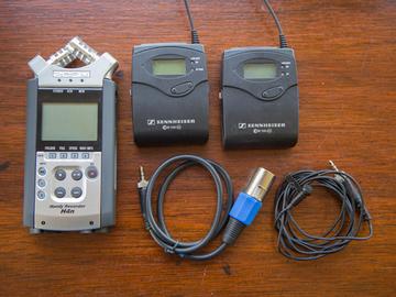 Rent: Lav mic and external audio recorder kit