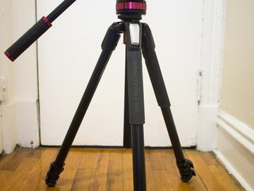 Rent: MVH502AH Fluid Video Head with MT055XPRO3 tripod