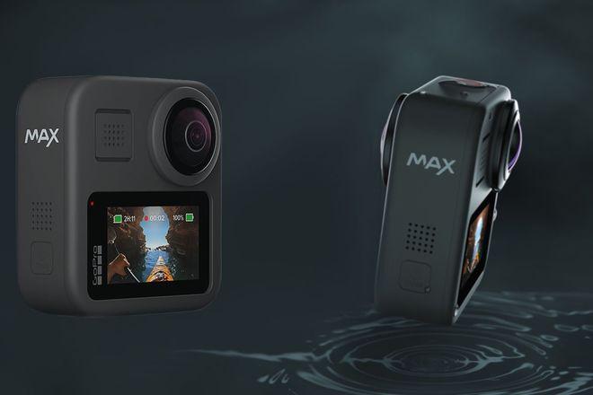 GoPro Max 360 w/ 2x Batteries, 2x 64 GB microSD