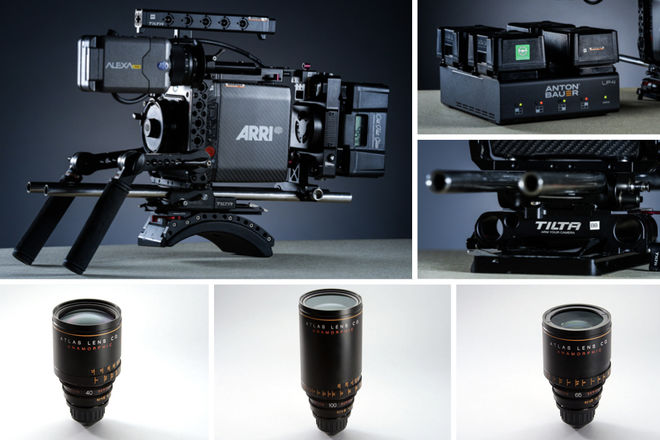 ARRI Alexa Mini + Atlas Anamorphic 40mm, 65mm, 100mm Package