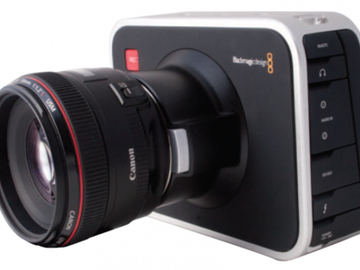 Rent: BLACK MAGIC CINEMA CAMERA 2.5K EF MOUNT