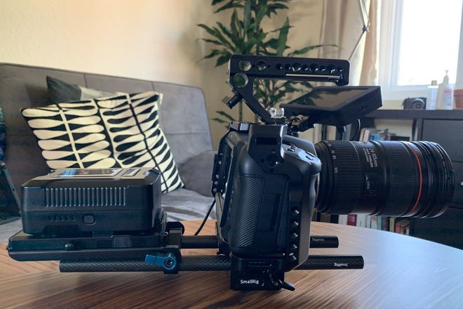 Blackmagic Design Pocket Cinema Camera 6K kit (3)