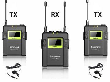 Saramonic 96-Channel UHF Wireless Lavalier Microphone