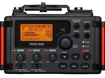 Rent: TASCAM DR-60DmkII DSLR Audio Recorder
