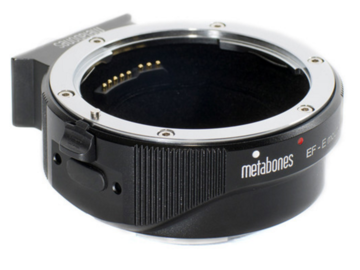 Rent: Metabones T Smart Adapter Sony E mount to Canon EF lens