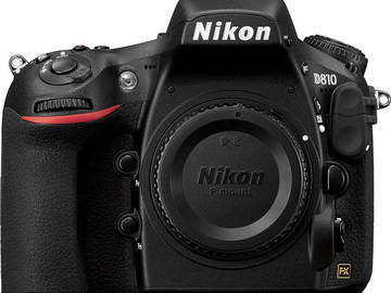 Rent: Nikon D810 (body)