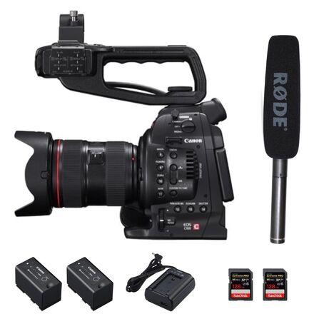 Canon EOS C100 + Rode NTG2