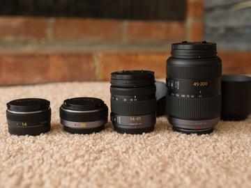 Rent: Panasonic Lumix 14mm f/2.5 and Panasonic Lumix 20mm f/1.7