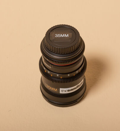 Rokinon Cine Lens Set (35mm, 50mm, 135mm)