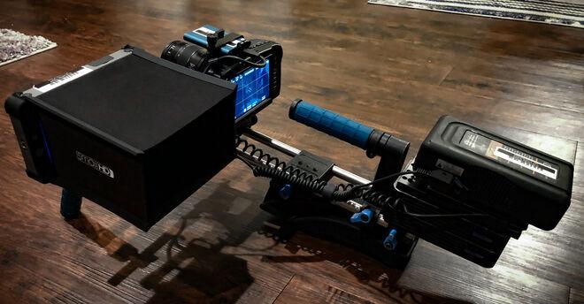 BMPCC 4k Full Day Shoulder Mount Kit with 12-35mm lens