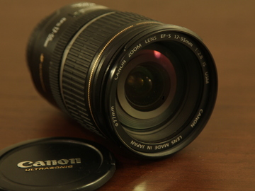 Rent: 17-55mm EF-S Canon Ultrasonic Zoom Lens