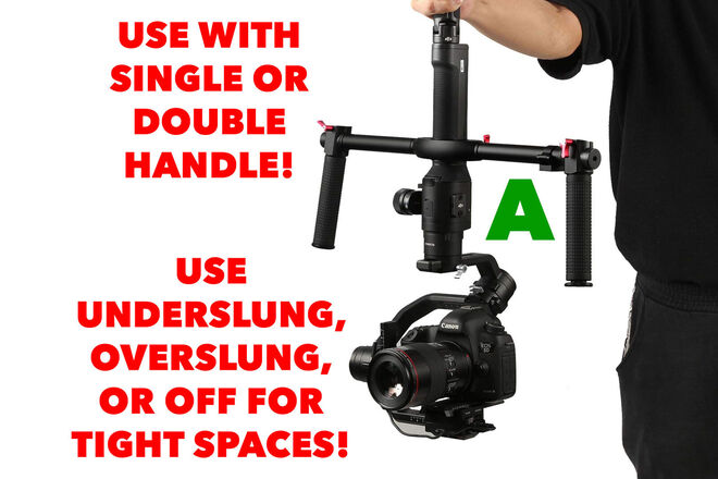 DJI Ronin-S Complete Kit With Dual Handle A
