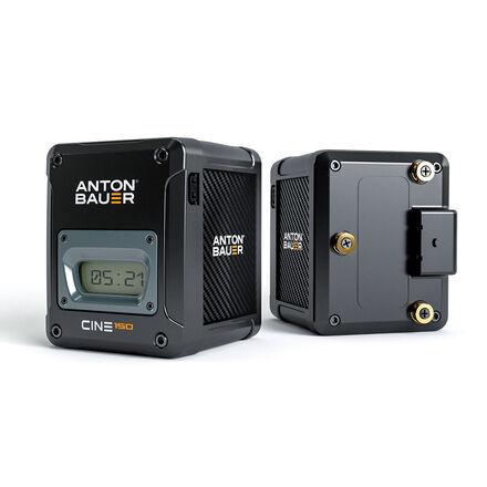 (4) Anton Bauer Cine 150 GM w/ quad charger
