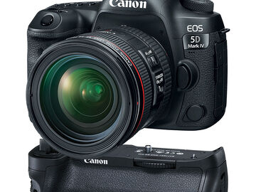 Rent: Canon EOS 5D Mark IV Bundle (2nd Bundle, no grip)