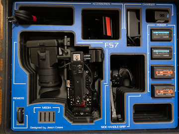 Rent: Sony PXW-FS7 Kit - Batteries / Speedbooster / Memory Cards