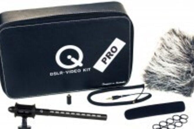 Que Audio Q DSLR - Video Pro Mic Kit