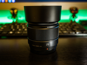 Rent: Panasonic Lumix G 25mm f/1.7 ASPH. Lens