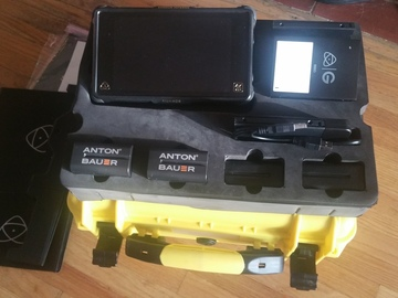 Rent: Atomos Shogun Inferno w/four batteries and 1 TB Hardrive