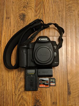 Canon EOS 5D Mark III +  8GB CF, 64 SD (High Speed Memory)