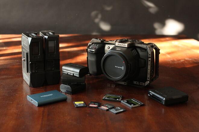 NEW: Blackmagic Pocket Cinema Camera *6K* + BIG BATTERIES