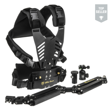 Glide Gear Stabilization System with Vest, Arm & Gimbal Adap
