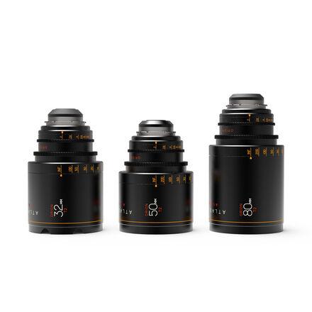 Atlas Orion Anamorphic Lens B Set (32, 50, 80mm T2)