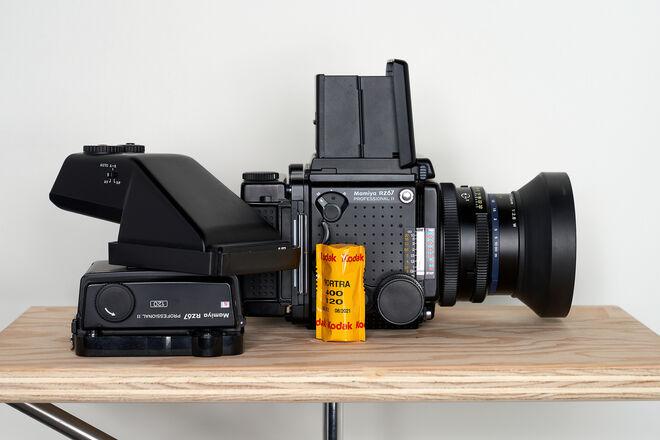 Mamiya RZ67 PRO II kit w/ 110mm F2.8mm lens + 2X 120 backs