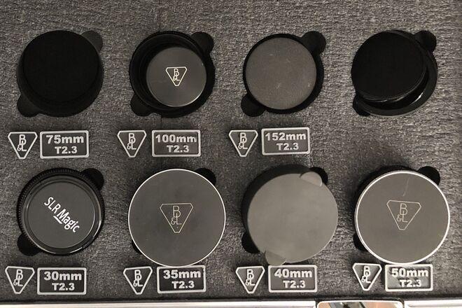Bausch and Lomb Baltar Cine Macro 7 Lens Set Baltar Primes