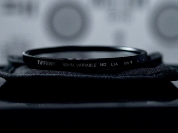 Rent: Tiffen 82mm Variable ND Filter (Step Down Filter Available)