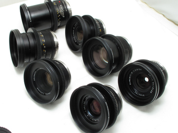 Rent: Leica R Cinevised Set 24/35/50/90/135