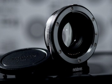 Rent: Metabones T Speed Booster Ultra 0.71x Adapter EF to E