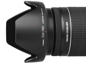 Rent: Canon 18-200mm Lens w/ Lens Hood