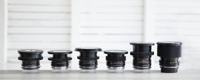 Leica R Set - Choice of 3 lenses